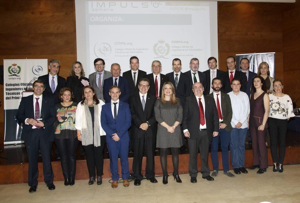 Premiados VI Premios de Impulso TIC y entregan premios